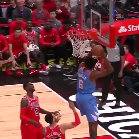 DeAndre Jordan led the @LAClippers in Chicago with 29 PTS, 18 REB!  #ItTakesEverything https://t.co/EwYivFOdME