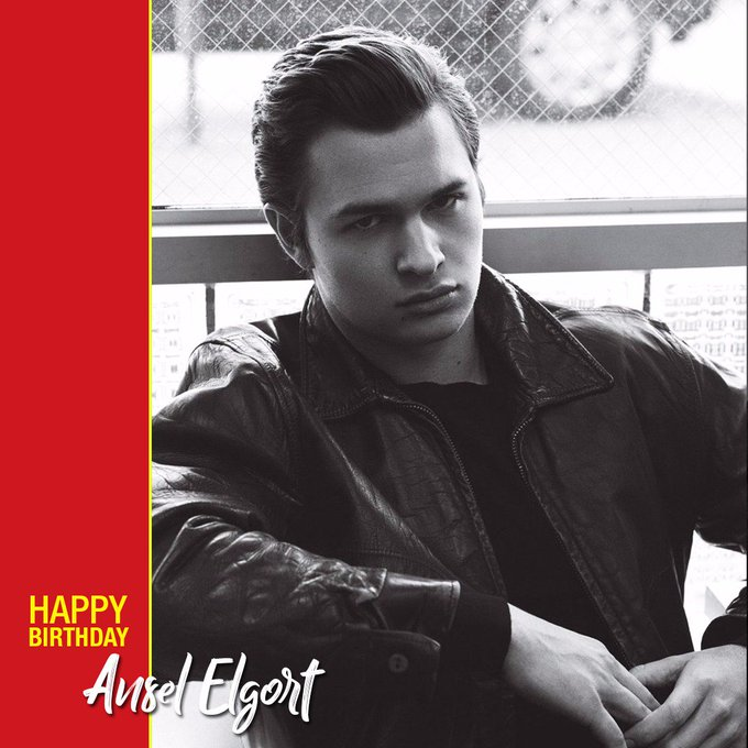 Wishing Ansel Elgort a very happy birthday!