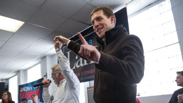 Dems declare victory in PA special election as Conor Lamb holds slim lead https://t.co/54S0FiDVF4 https://t.co/vPmmDPQFMZ