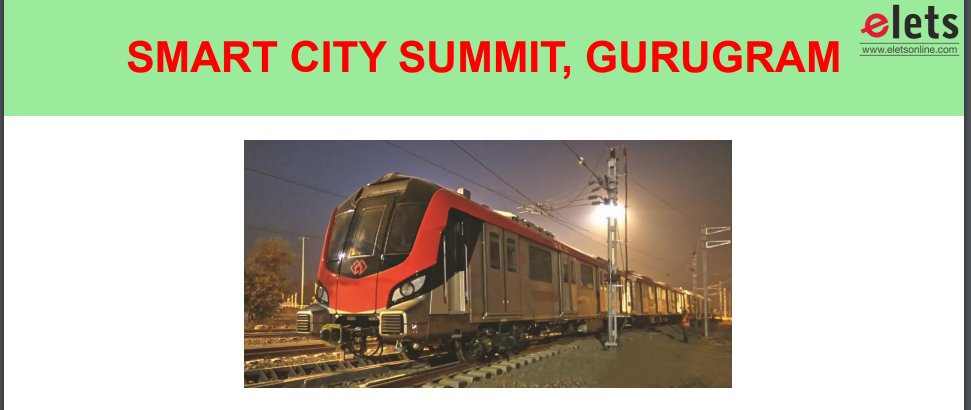 test Twitter Media - Presentation of Mahendra Kumar, Director,Rolling Stock-Systems, @LucknowMetro_ at the Smart City Summit, Gurugram https://t.co/w324iRUERT @ArpitKGupta @gautam_debroy @SAVDAGREAT @MunCorpGurugram @ravigupta1000 https://t.co/l4xVhoxnsd