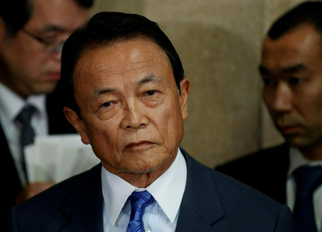 Japan would lose voice of prudence if scandal brings down Aso https://t.co/snxePd8Xt5 https://t.co/4VagEDr4Kh