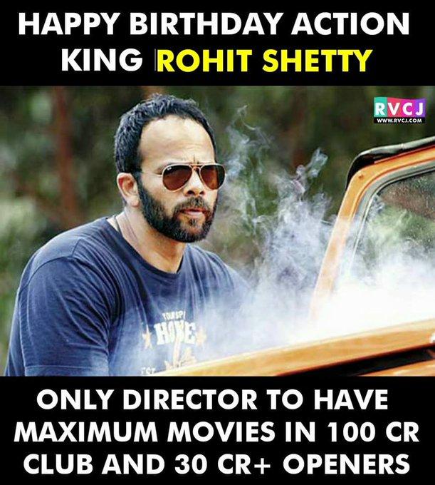 Happy Birthday Rohit Shetty!