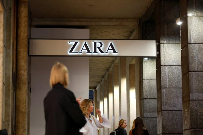 Currency effects, later launch squeeze margins at Zara owner Inditex https://t.co/X2q4Kj68w0 https://t.co/cXkaHyMCDk