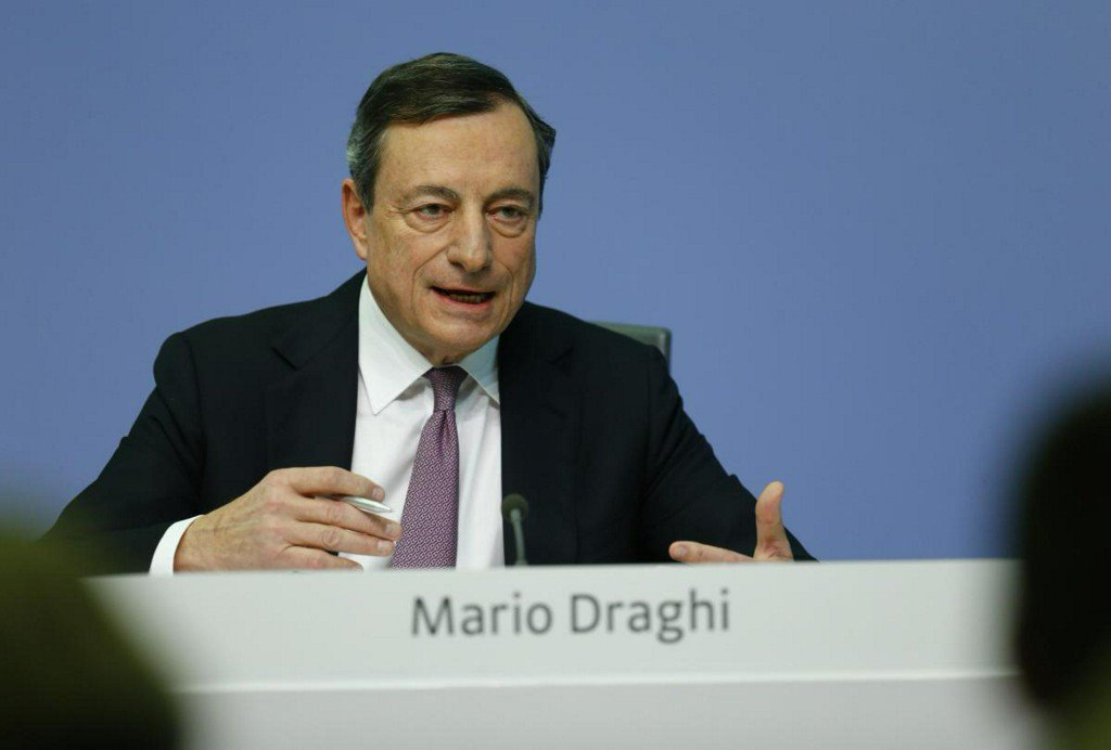 ECB to end bond buys when inflation is on sustainable path: Draghi https://t.co/He732bh5ae https://t.co/Cs5xDokGu5
