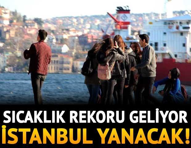 İstanbul'a sıcaklık rekoru geliyor! https://t.co/6srdNsjRmm https://t.co/abqyPgxv6z
