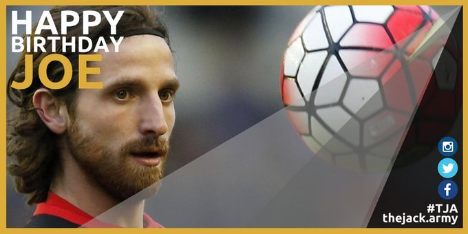 Happy 28th Birthday to Joe Allen!  Please come home.