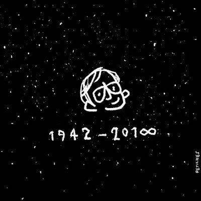 Thank you, Stephen Hawking. https://t.co/cya4OALH9F (art by @petiches) https://t.co/LfKKvWtNld