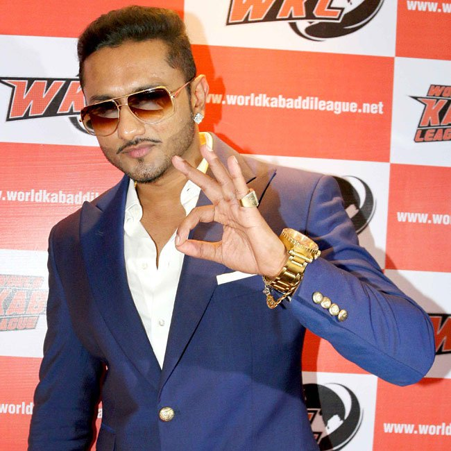 Rockstar handsome hunk singer yo yo honey Singh wish you happy birthday