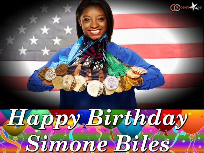 Happy birthday to Olympic gold-medalist    She is 21 today.
