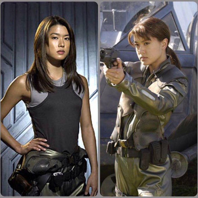 Happy Birthday Grace Park, who played Boomer in & more!