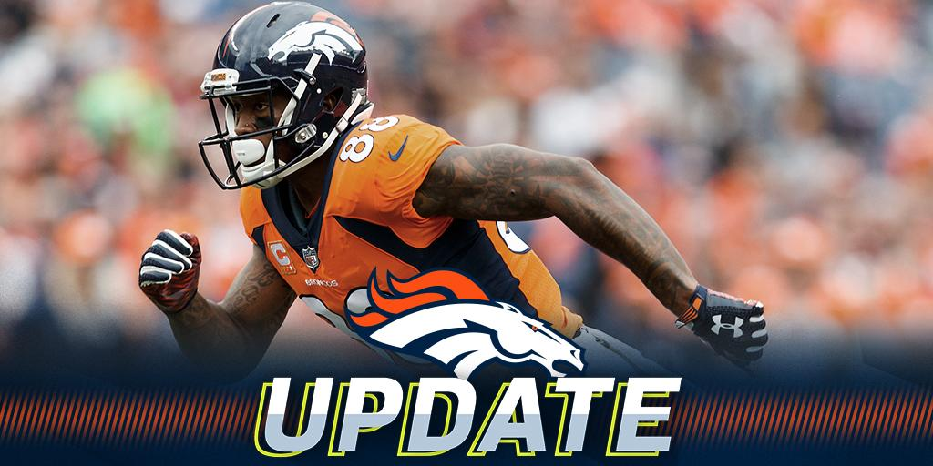 Broncos pick up WR Demaryius Thomas' contract option: https://t.co/fVjULnfPUW  (via @JamesPalmerTV) https://t.co/IOgtMJrSPM