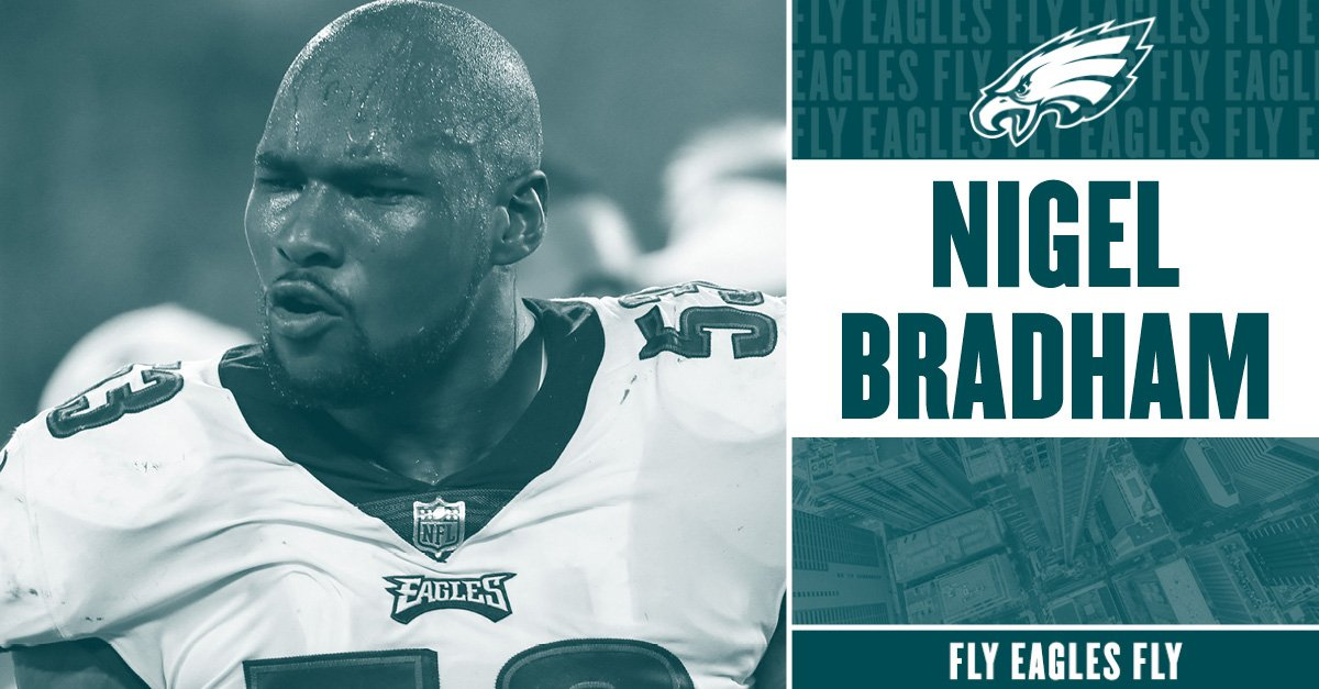 LB Nigel Bradham discusses his lb nigel bradham