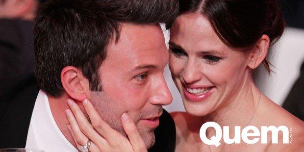 Ben Affleck. Foto do site da Quem Acontece que mostra Namorando, Ben Affleck comenta com amigos vontade de voltar para a ex Jennifer Garner
