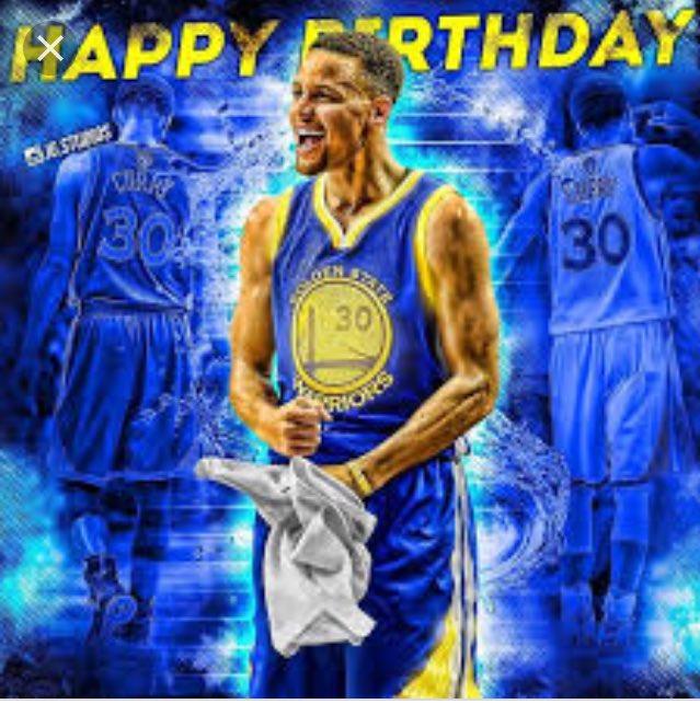 Happy 30th birthday Stephen Curry
