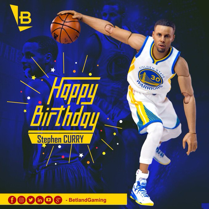 Happy 30th Birthday, Stephen Curry