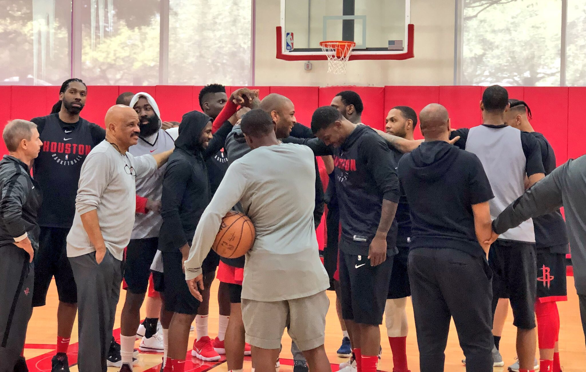 The @HoustonRockets currently sit at 53-14, first in the West & NBA.  �� #RocketsAllAccess https://t.co/iaon29RO9v