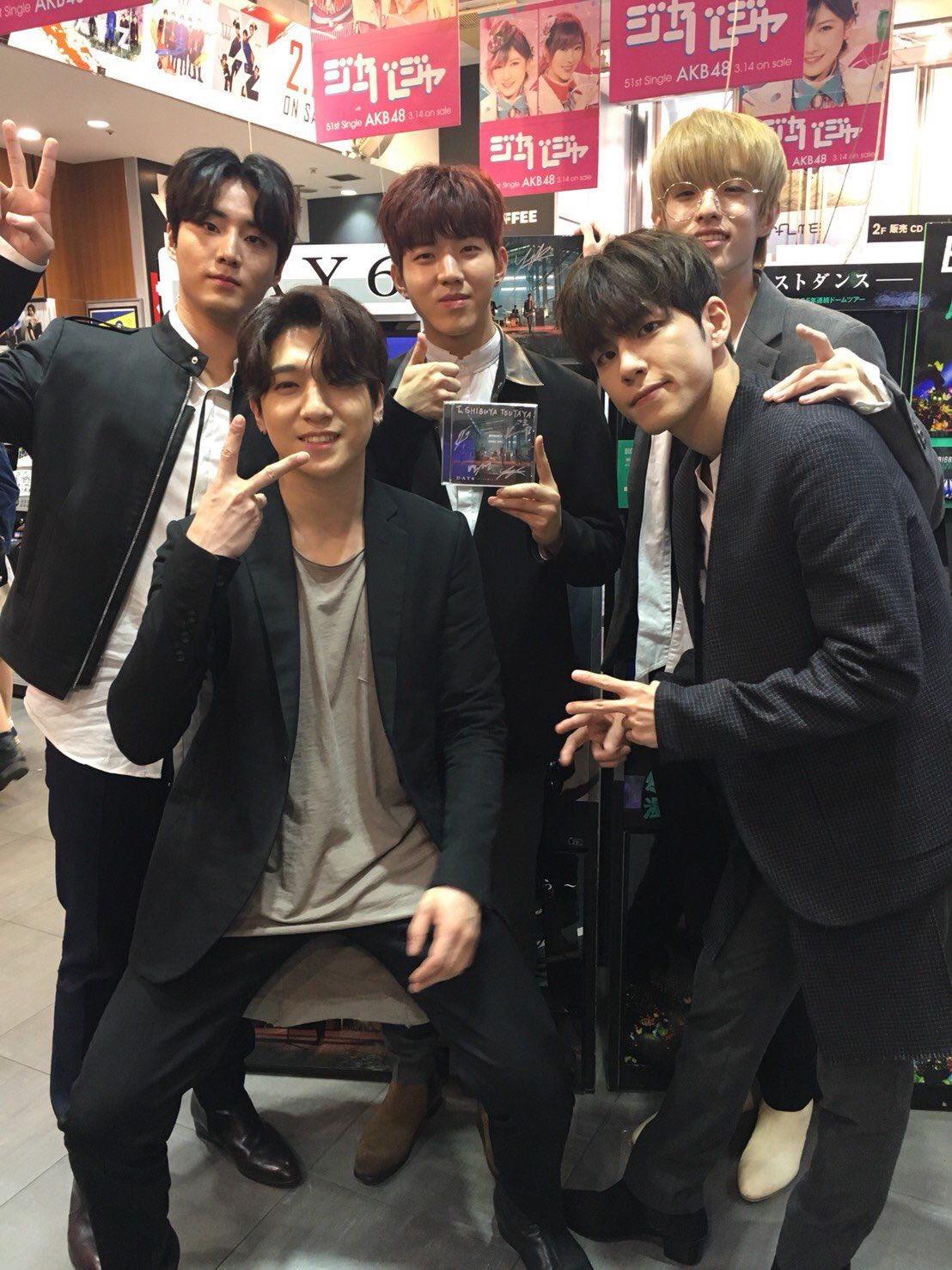 BY THE WAY CONGRATULATIONS DAY6 FOR: -Japan debut -Album sold out -Get into oricon chart I'm beyond proud�� https://t.co/eHBb9hLN9O