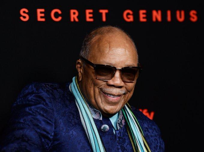 Happy birthday to the legendary Quincy Jones!
