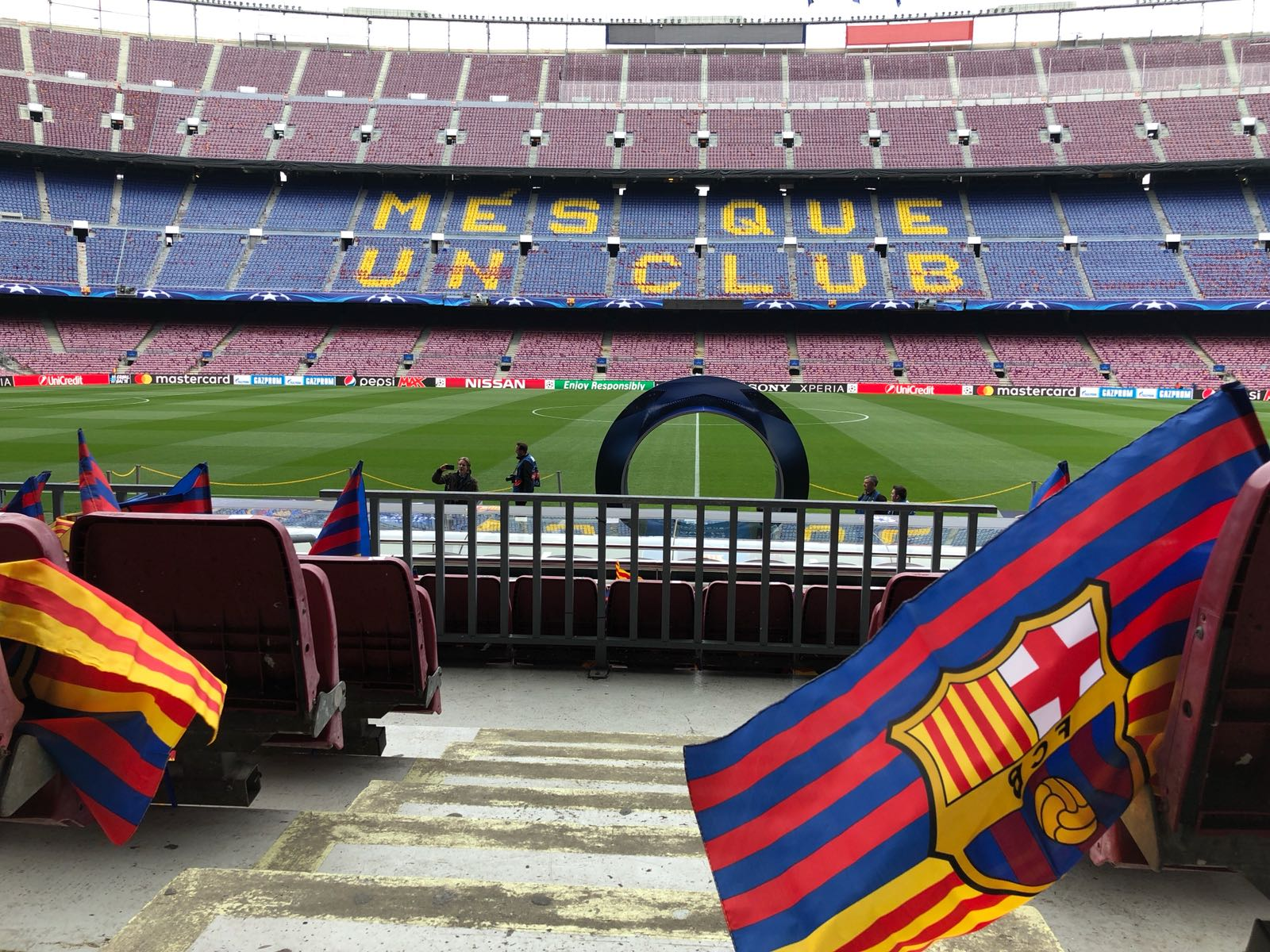 �� The stage is set!  ���� #BarçaChelsea https://t.co/gvlRk393xl