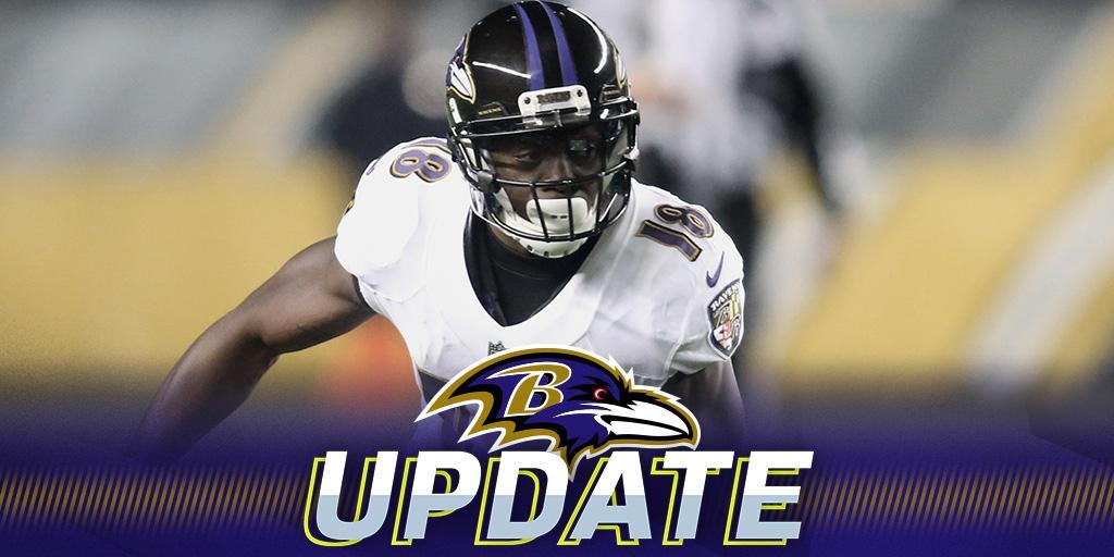 .@Ravens to release WR Jeremy Maclin: https://t.co/ZeEyyHsV97 https://t.co/WM3sLggptC