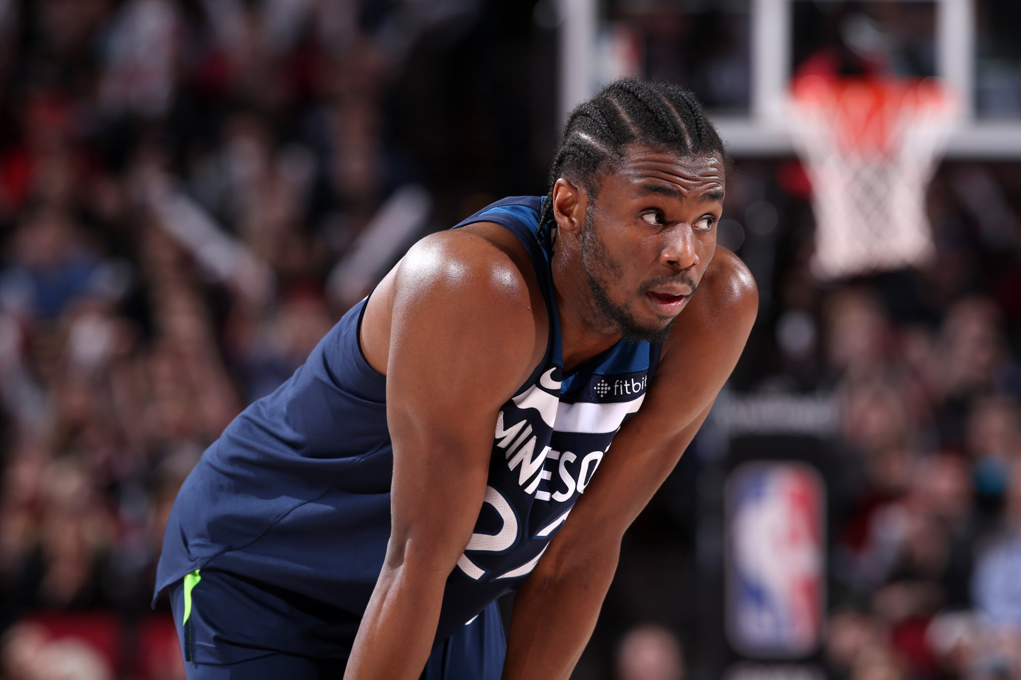 Andrew Wiggins unhappy with role behind KAT and Jimmy Butler, per @DWolfsonKSTP https://t.co/FabQ3cX3tJ https://t.co/z92M1StLAH
