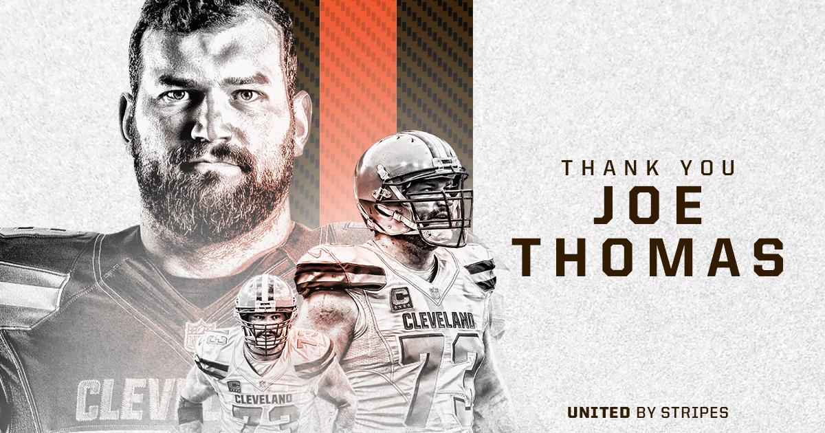 .@joethomas73 is calling it a career.  See you in Canton, Joe.  �� » https://t.co/BoYpcxVcIg  #ThankYou73 https://t.co/gzEa8Z6tPK