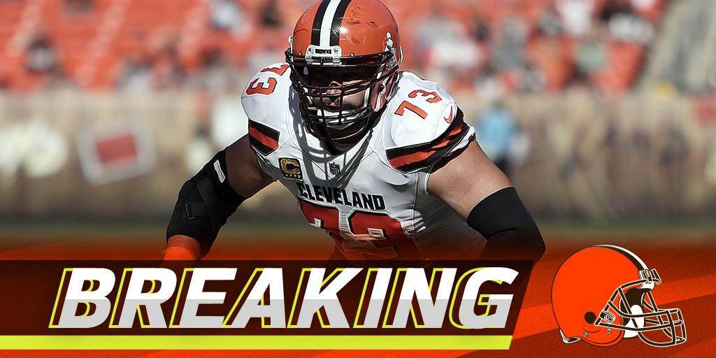 .@Browns tackle Joe Thomas retiring after 11 seasons: https://t.co/IJvHLAH0P5 https://t.co/kGVJtCYcQm