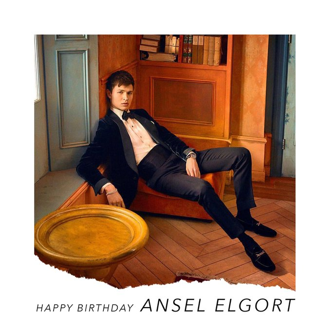 Happy birthday to Ansel Elgort... we can\t wait to hear your next single!