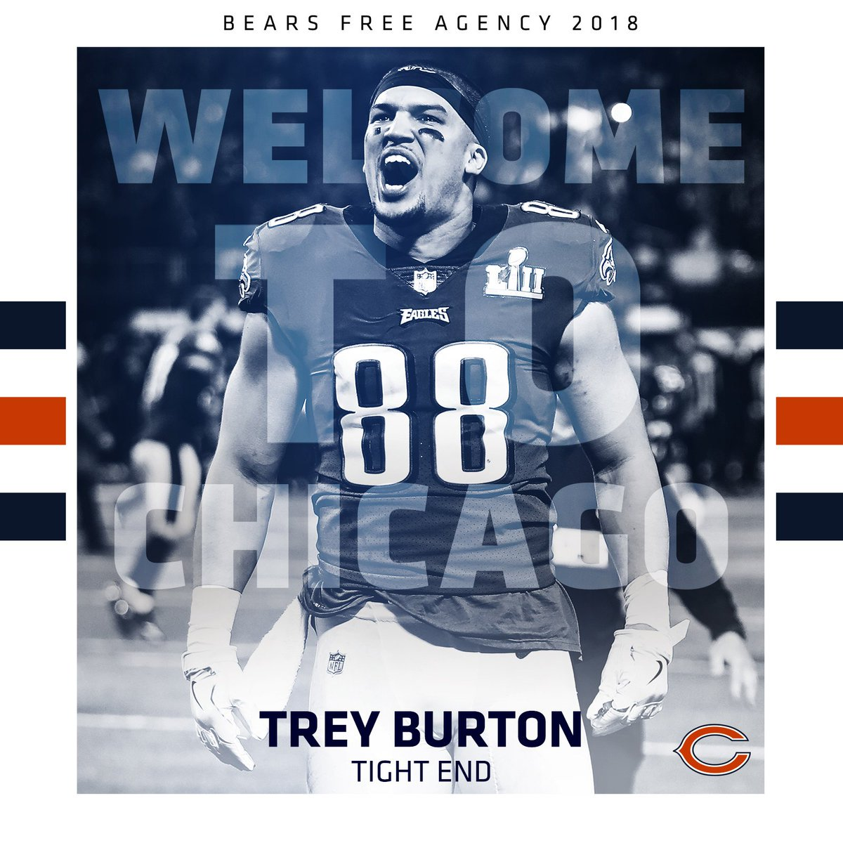 Blessed  amp  appreciative is  trey burton