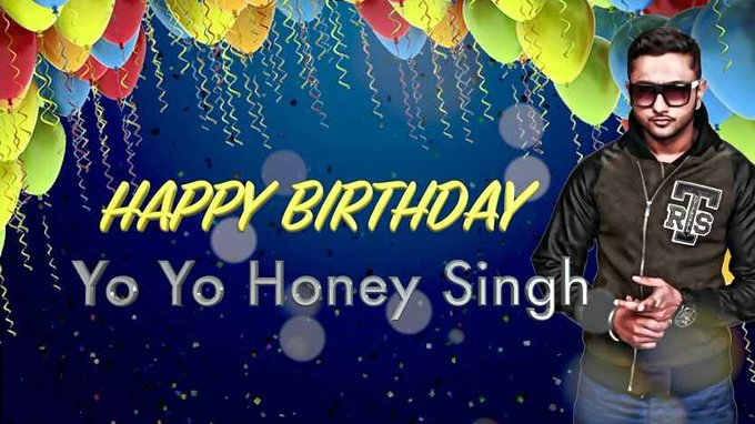 Happy birthday  baap of rapper Yo yo honey singh