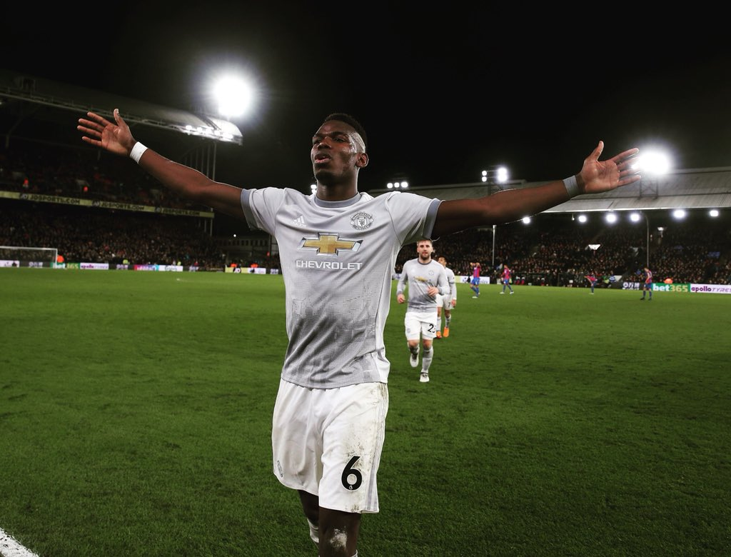 Happy birthday, Paul Pogba. One of the best midfielder in the world. More success to come at United.