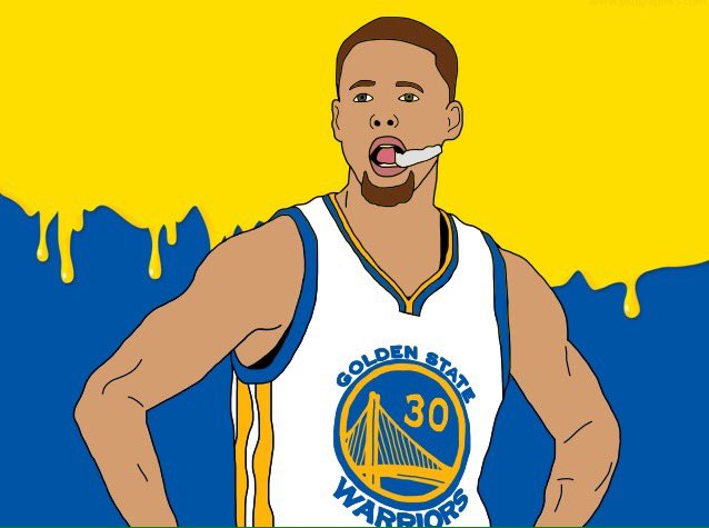 Happy birthday Stephen Curry! Super old throwback drawing but it came out good!