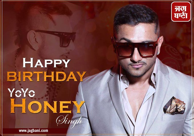 Happy Birthday Yo! Yo! Honey Singh