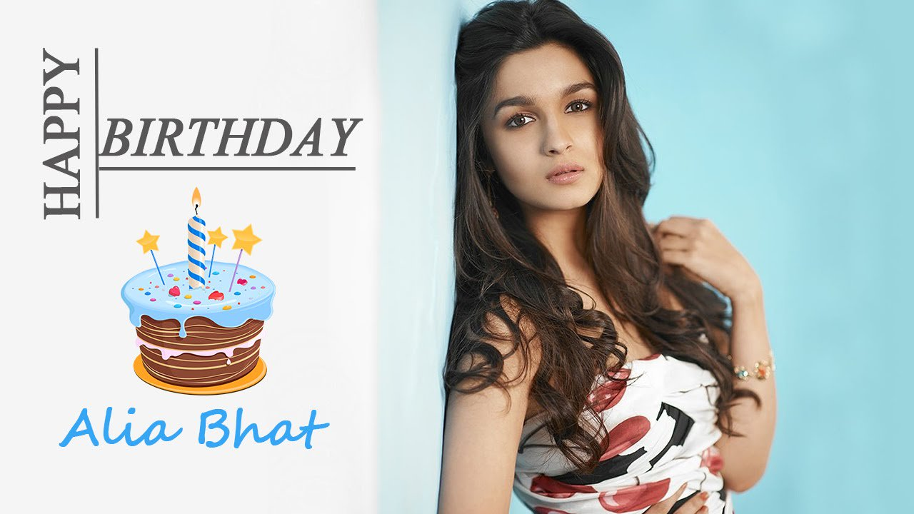 Happy birthday to u alia