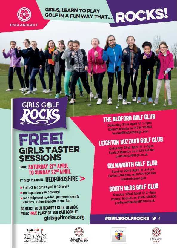 test Twitter Media - #GIRLSGOLFROCKS Girls aged 5-18, free taster sessions, girls-only coaching courses and the chance to get out and play. Try our free taster session here at The Bedford on Sat 21st April, 1-3pm. To book a space please call Brenda on 01234 320 022 or email brenda@thebedfordgc.com https://t.co/Fd9wwpWXrb