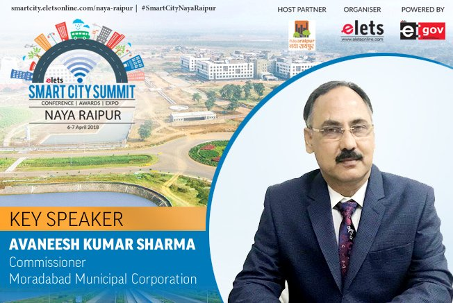 test Twitter Media - Elets Smart City Summit - Naya Raipur welcomes Avaneesh Kumar Sharma, Commissioner, Moradabad Municipal Corporation as Key Speaker   Visit: https://t.co/LYXTxFlIGS #SmartCityNayaRaipur #RegisterNOW #Conference @Naya_Raipur https://t.co/F8vIBWh7gy
