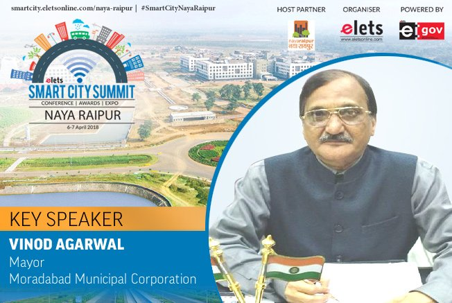 test Twitter Media - Elets Smart City Summit - Naya Raipur welcomes Vinod Agarwal, Mayor, Moradabad Municipal Corporation as Key Speaker  Visit: https://t.co/LYXTxF47ii   #SmartCityNayaRaipur #RegisterNOW #Conference @Naya_Raipur https://t.co/ouSgQNFSHD