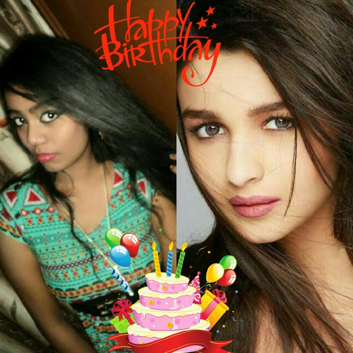 Happy birthday to us  Glad i share my born day with this cutie Happy birthday bhatt  God bless you