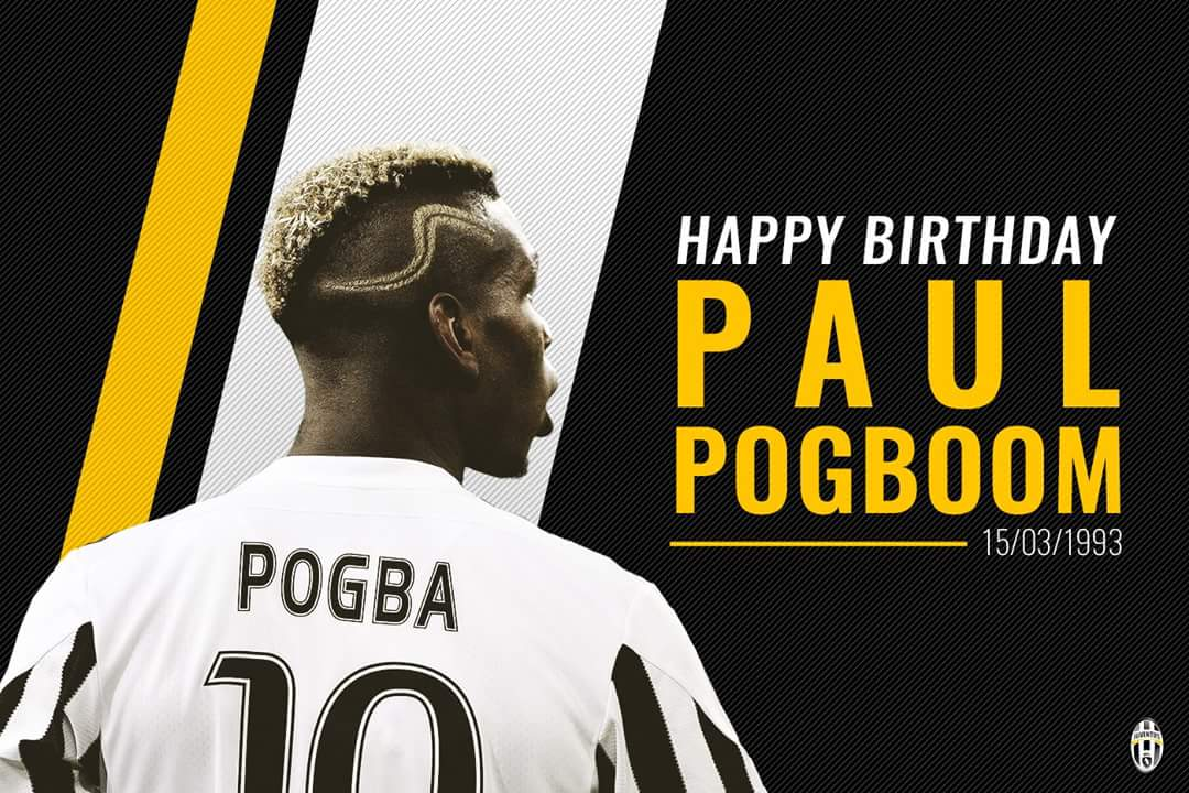 Happy 25th Birthday Paul Pogba!