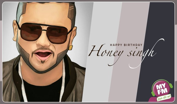 Yo Yo Honey Singhaaa!!   wishes superstar, Yo! Yo! Honey Singh a very Happy Birthday.