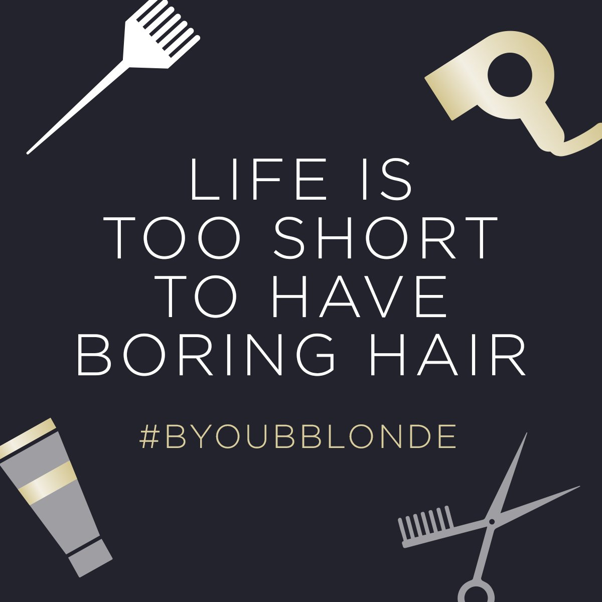 Image for So switch it up - cut it or dye it, just make sure you're LOVING it ????#hair #quote https://t.co/cTF0ifPt3c
