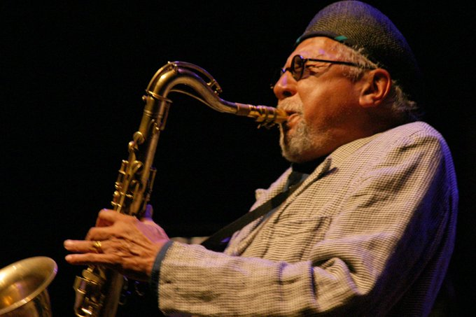 Happy 80th Birthday to saxophone legend Charles Lloyd !