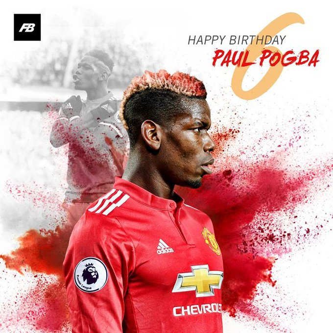 Happy Birthday Paul Pogba!