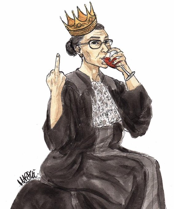 HAPPY BIRTHDAY Ruth Bader Ginsburg MAY YOU LIVE FOREVER!