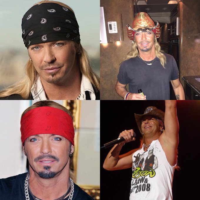 Happy 55 birthday to Bret Michaels. Hope that he has a wonderful birthday.