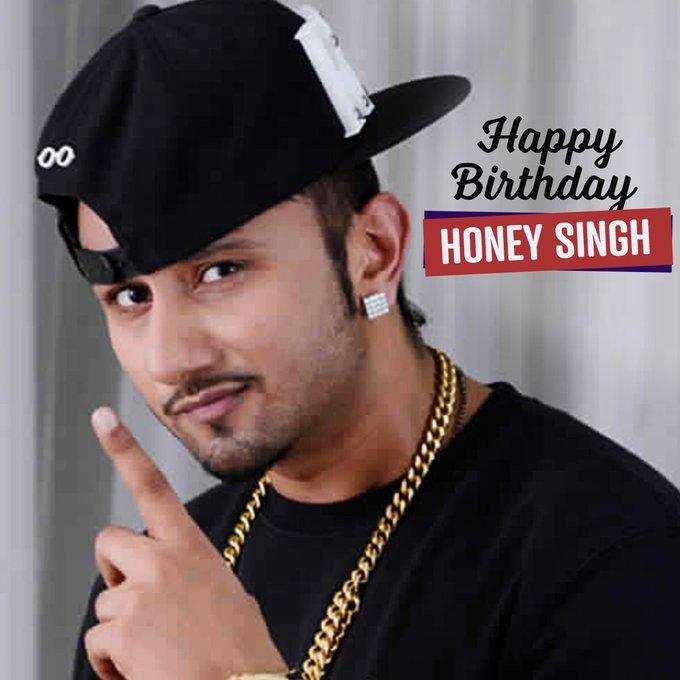 Wishing our very own rap machine Yo! Yo! Honey Singh a very Happy Birthday!