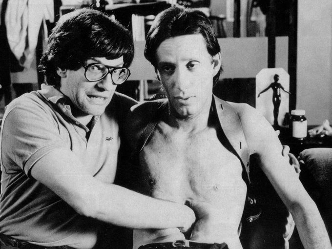 Happy 75th birthday to filmmaker David Cronenberg (The Fly, Videodrome, Scanners):