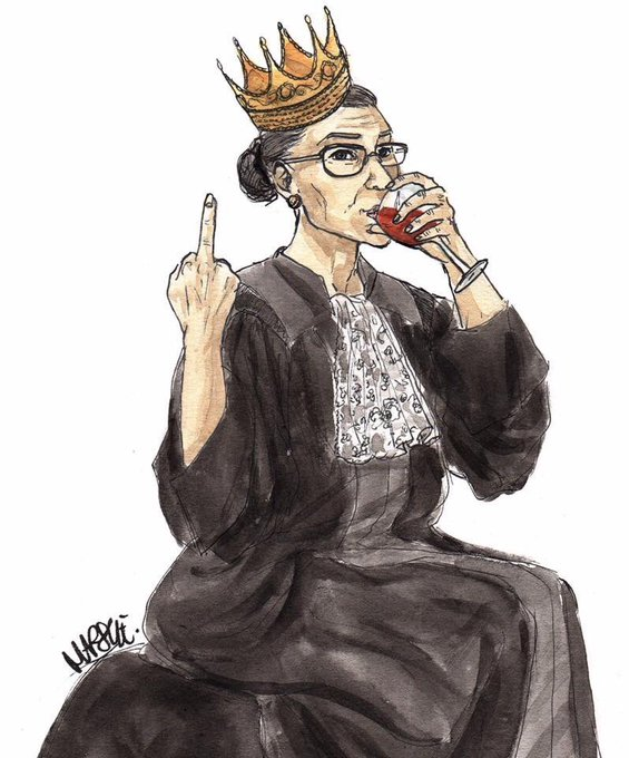 Happy Birthday, Ruth Bader Ginsburg. Thank you for everything. May you live forever.