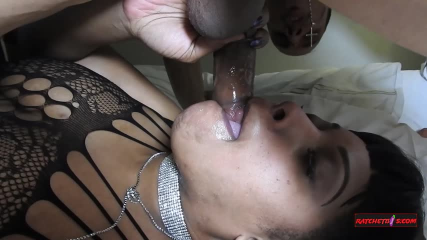 Hot vid sold! Thick Ebony Swallows Puerto Rican Dick. Get yours here yQPj17mmDt