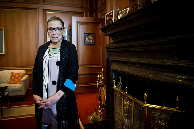 A happy birthday to my favorite Supreme Court Justice, Ruth Bader Ginsburg.
